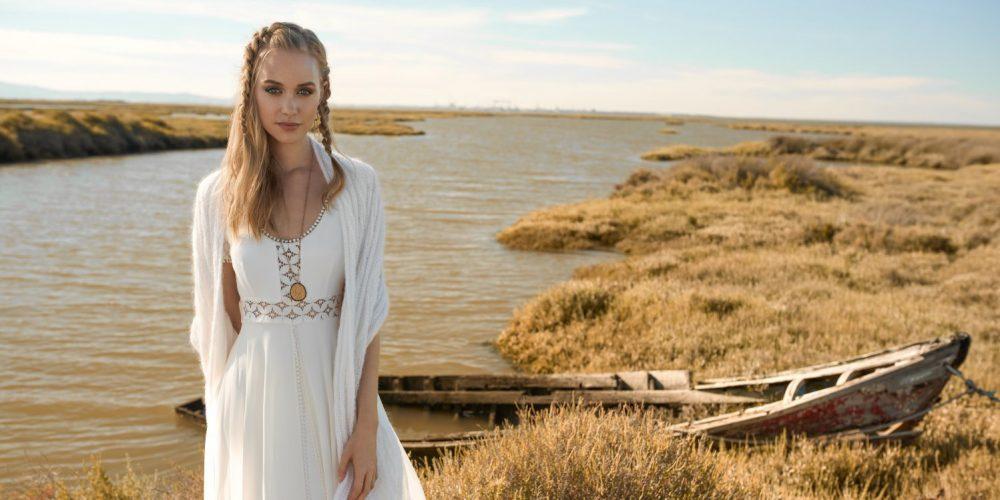 Alice Blue bridal dress