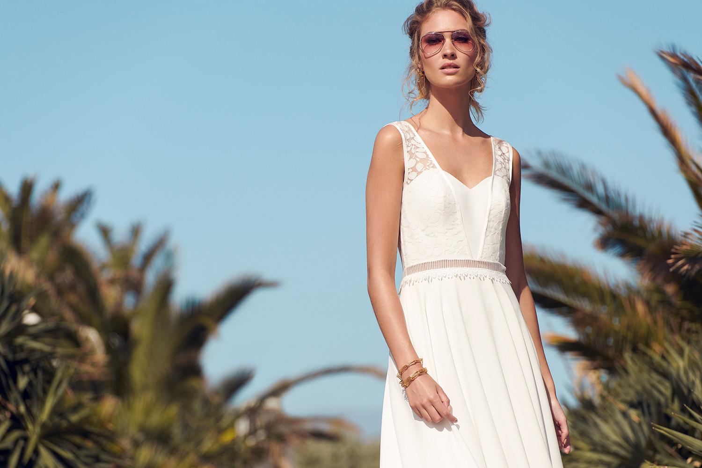 Good Vibes bridal dress