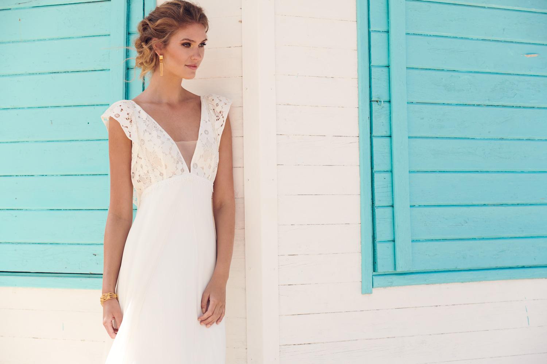 Holywood bridal dress