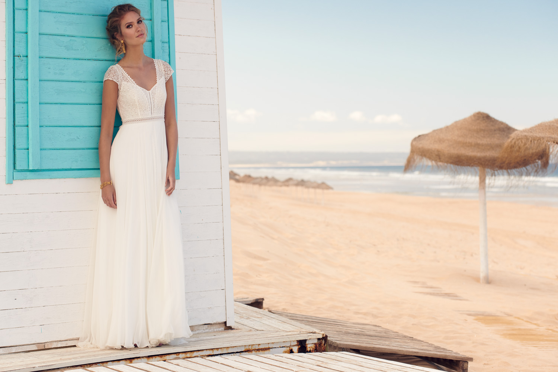 Honey bridal dress