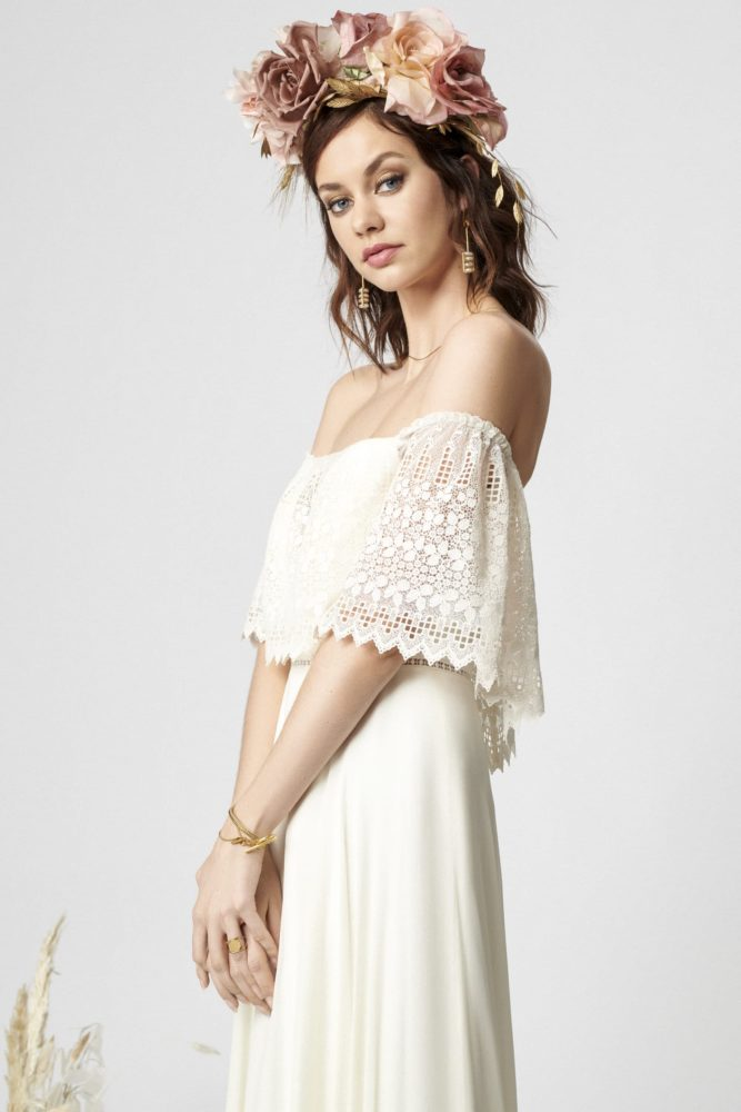 Boho Bride Dress Rembo Styling From 2020 Collection Lookbook